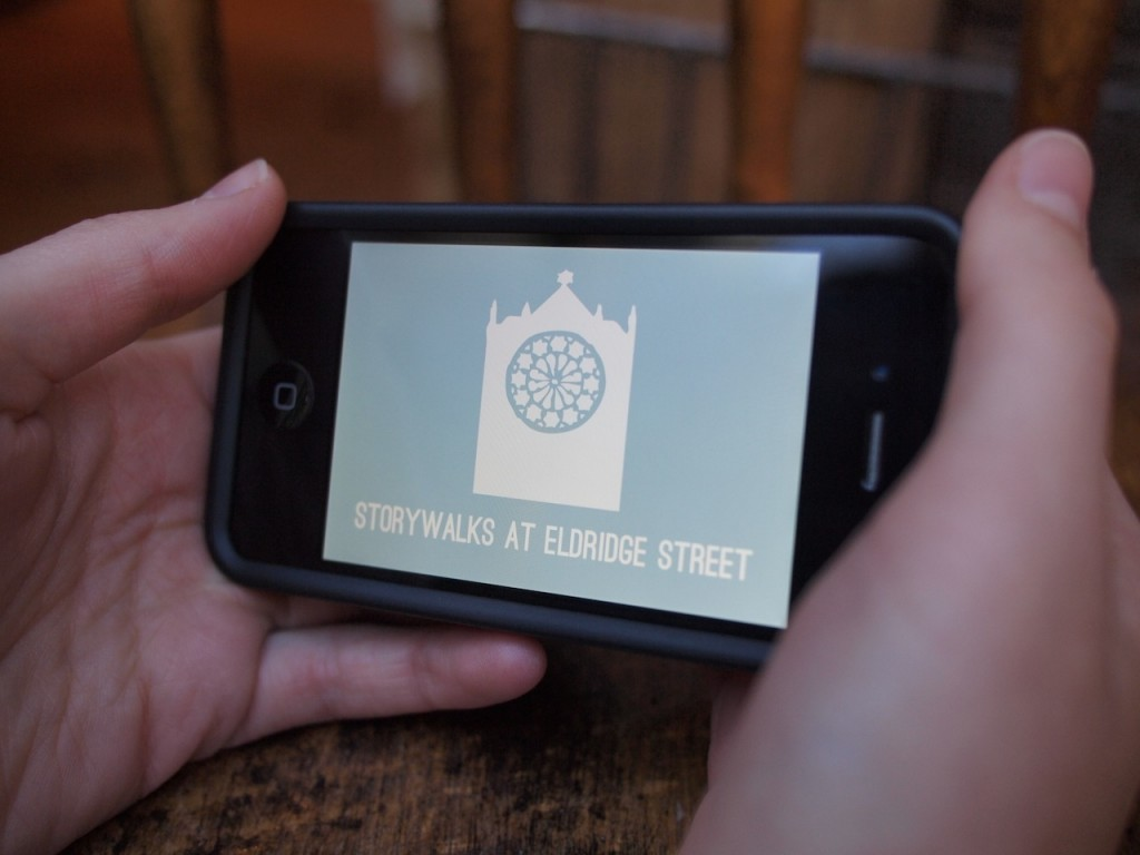 Storywalks at Eldridge Street: Smartphone App